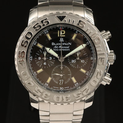 Blancpain Fifty Fathoms Air Command Flyback Chronograph Wristwatch
