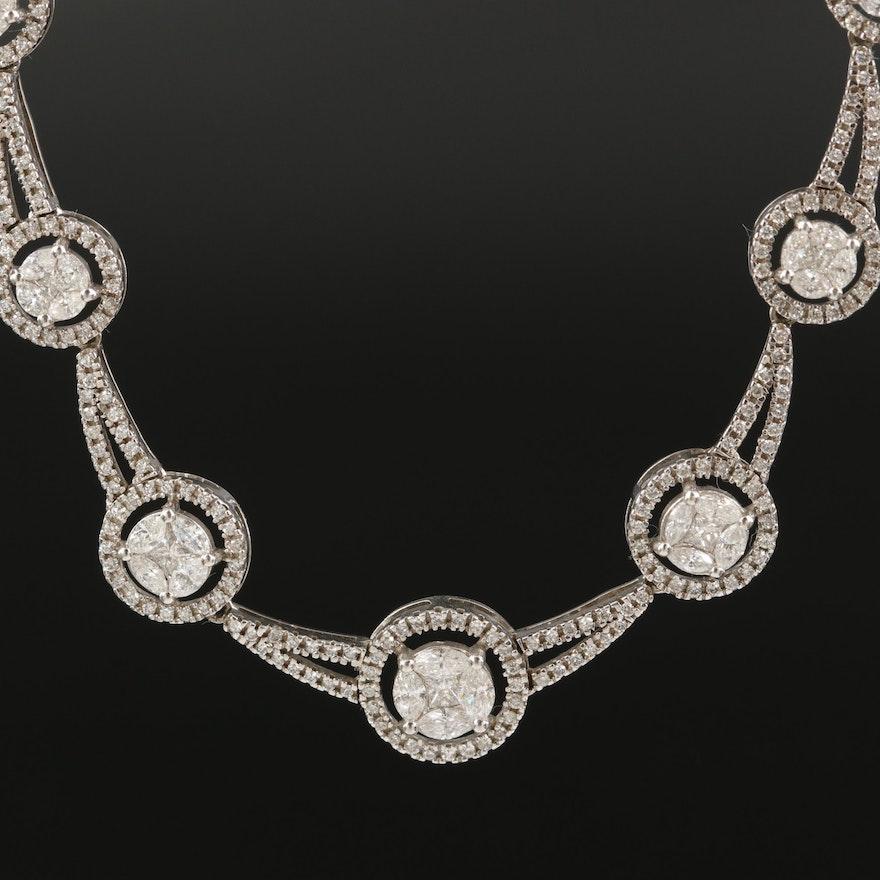 14K 2.15 CTW Diamond Necklace