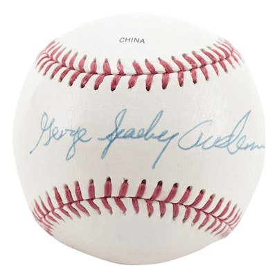 George Sparky Anderson Signed Rawlings Official League Baseball, COA