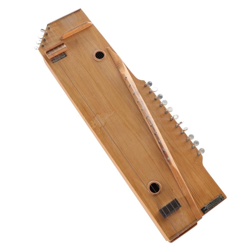 Rikhi Ram Musical Instrument Mfg. Co. Swarsangam, Signed by Diane Ladd