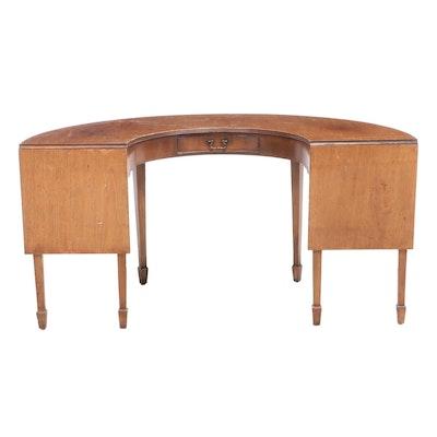 George III Style Mahogany Drop-Leaf Serving Table, Mid-20th Century