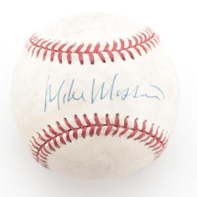 Mike Mussina Signed Rawlings American League Baseball, COA