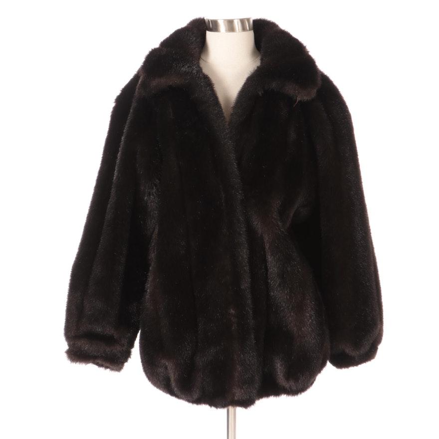 Dennis Basso Faux Fur Coat