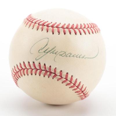 Andre Dawson Signed Rawlings National League Baseball, COA