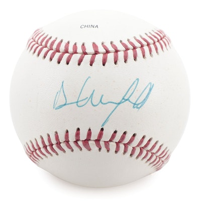 Dave Winfield Signed Rawlings Official League Baseball, COA