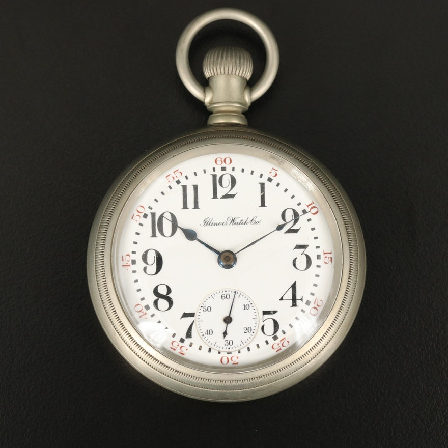 1916 Illinois Swing Out Front Pocket Watch