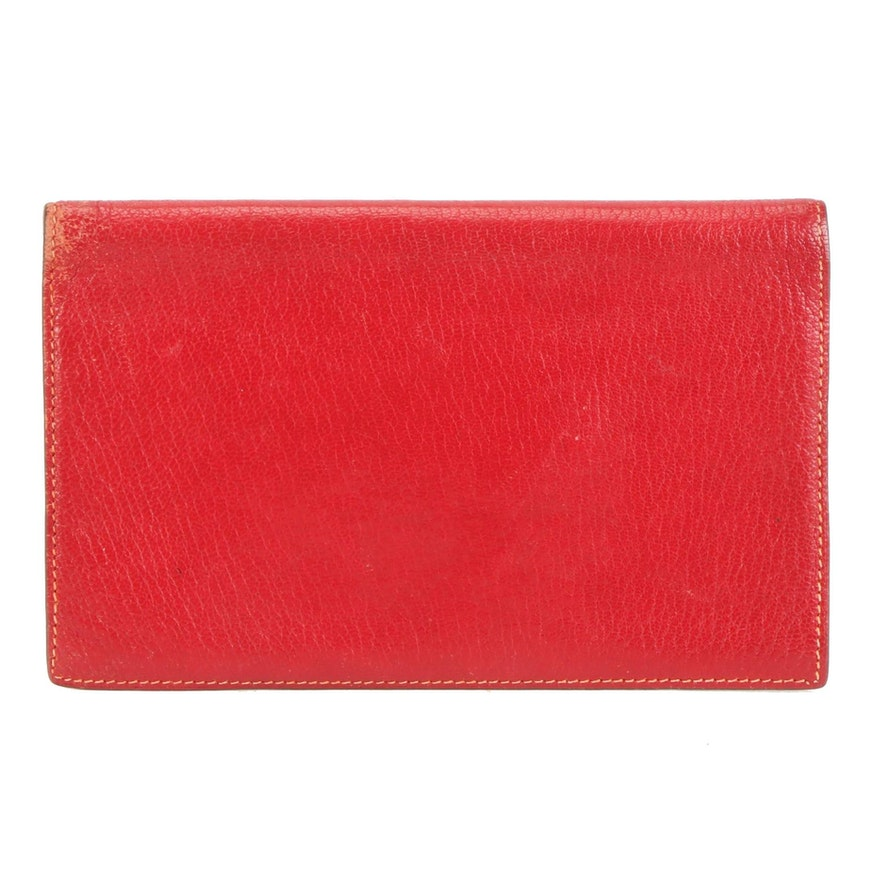 Hermès Vision II Simple Agenda Cover in Leather
