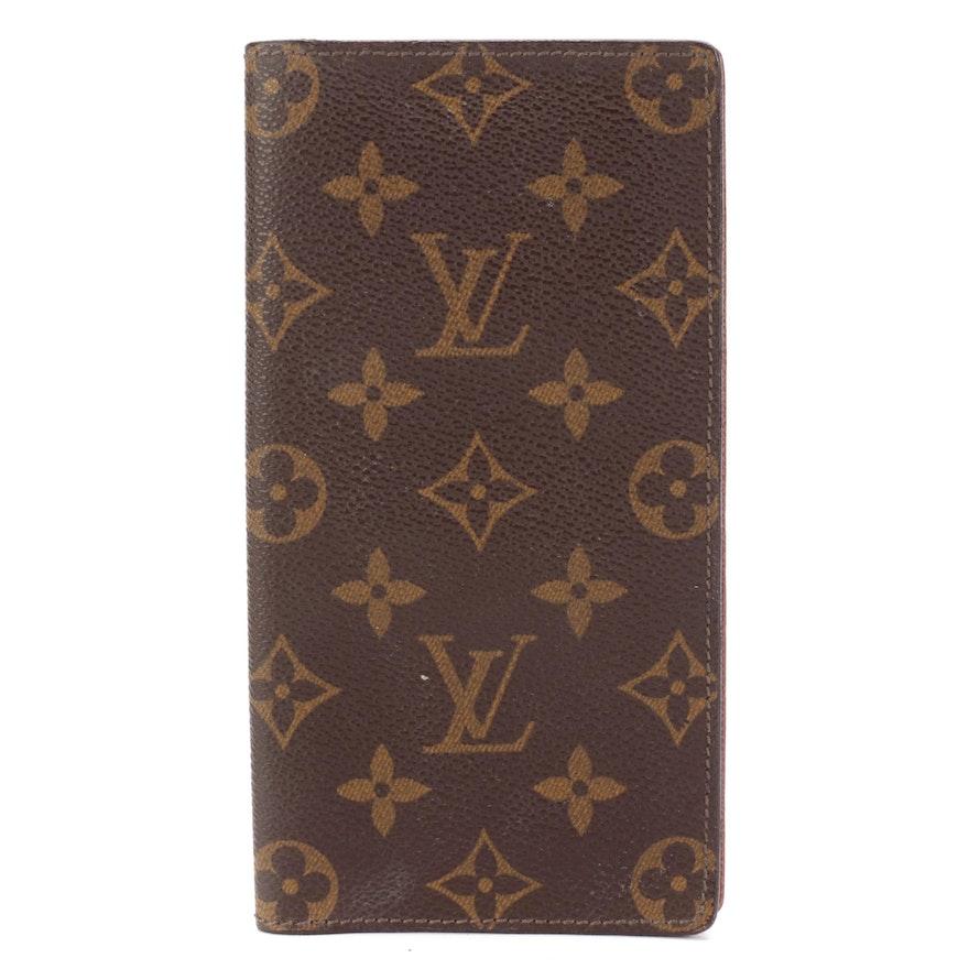 Louis Vuitton Brazza Wallet in Monogram Canvas