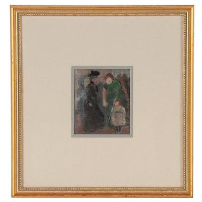 Emil Carlsen Figurative Oil Painting