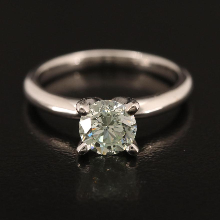 14K 1.06 CT Diamond Solitaire Ring