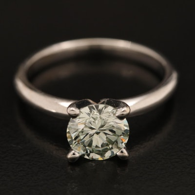 14K 1.45 CT Diamond Solitaire Ring