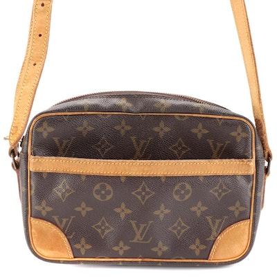 Louis Vuitton Trocadéro 30 in Monogram Canvas and Vachetta Leather