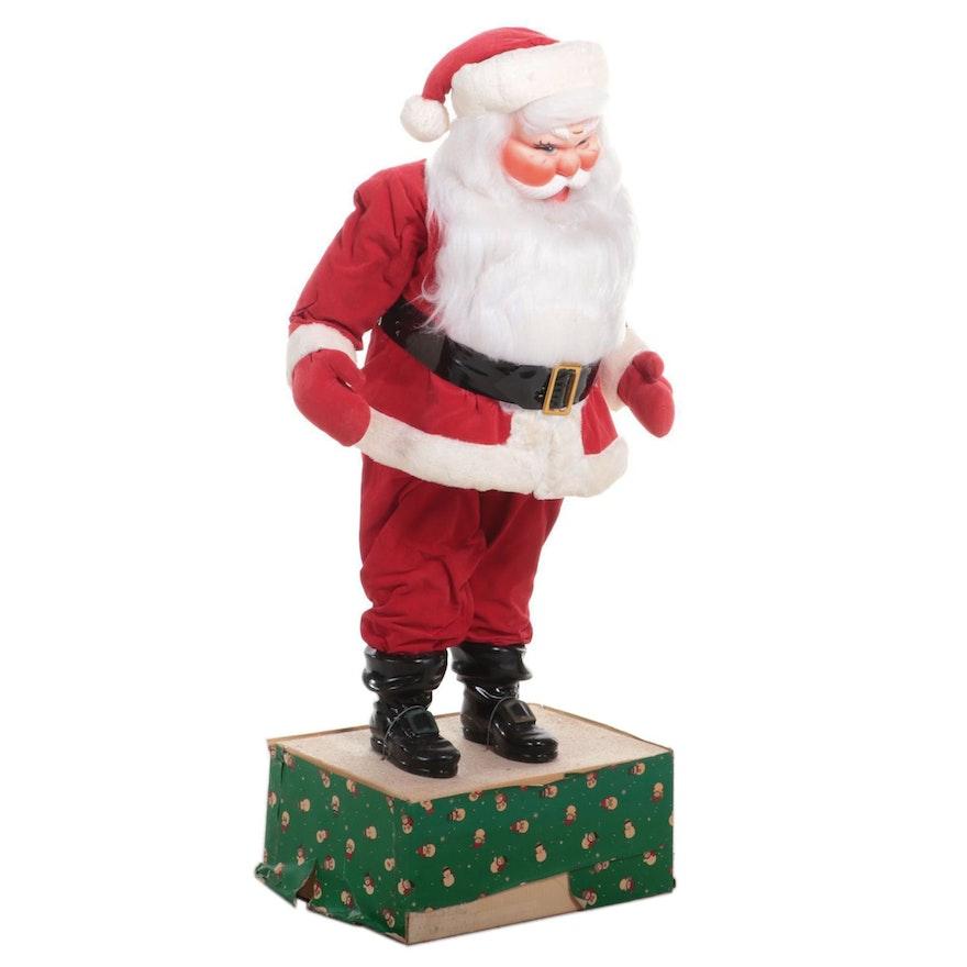 Freestanding Holiday Santa Claus Décor
