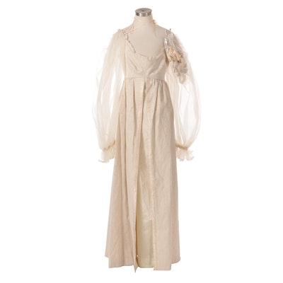 Handmade Renaissance Festival Dress with Spare Trim