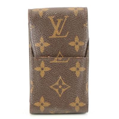 Louis Vuitton Personalized Monogram Canvas Cigarette Case