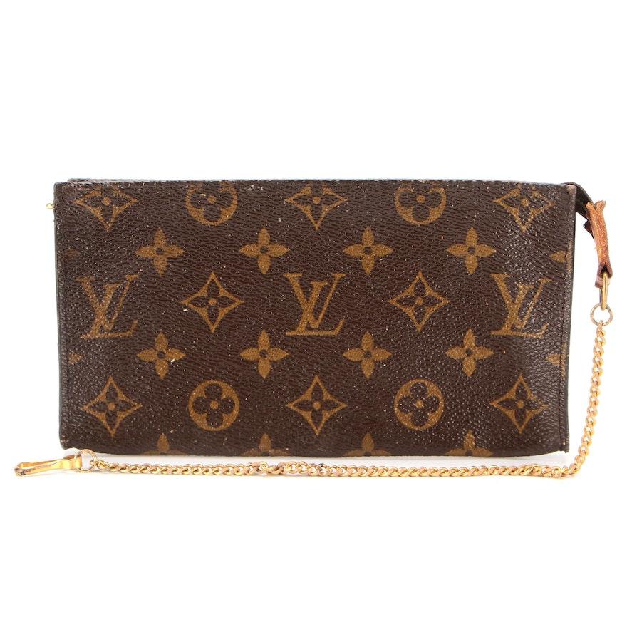 Louis Vuitton Bucket Bag Accessory Pochette in Monogram Canvas