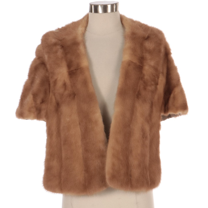 Mink Fur Stole from McAlpin's