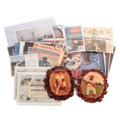 Baseball Memorabilia Collection