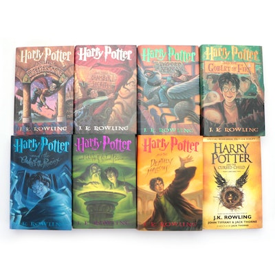 """First American Edition """"Harry Potter"""" Series with """"The Cursed Child"""""""