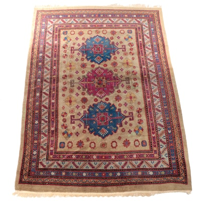 8'9 x 12'4 Hand-Knotted Caucasian Kazak Room Sized Rug