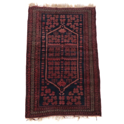 3'10 x 6'5 Hand-Knotted Turkish Yağcıbedir Area Rug