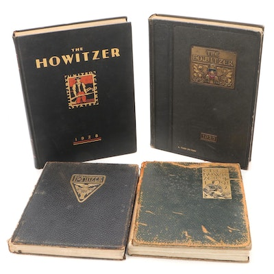 """""""The Howitzer"""" Yearbook Collection, Early 20th Century"""