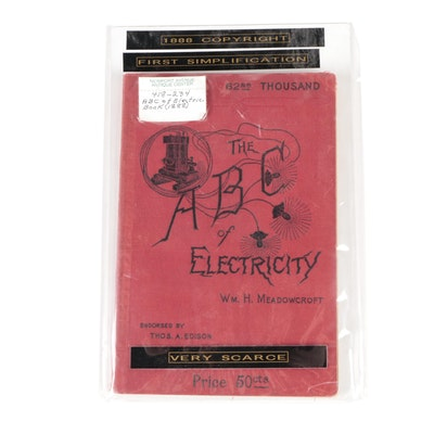 """""""The ABC of Electricity"""" by William H. Meadowcroft, 1888"""