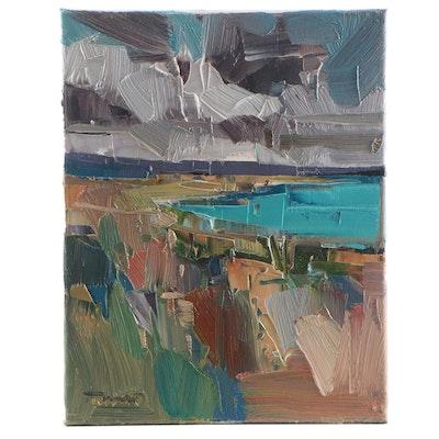 """Jose Trujillo Oil Painting """"Sedona, AZ,"""" 2021"""