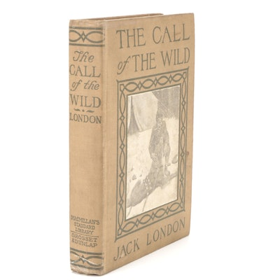 """Illustrated """"The Call of the Wild"""" New Edition by Jack London, 1914"""