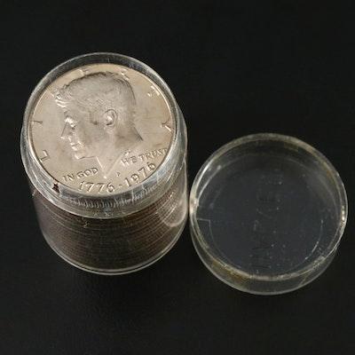 19 Kennedy Bicentennial Clad Half Dollars