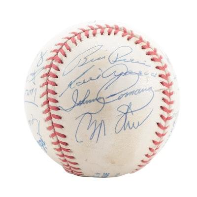 Chicago White Sox Team Signed Rawlings American League Baseball, COA
