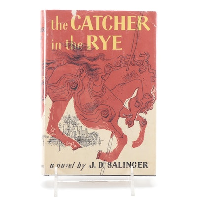 """Early Trade Edition """"The Catcher in the Rye"""" by J. D. Salinger"""