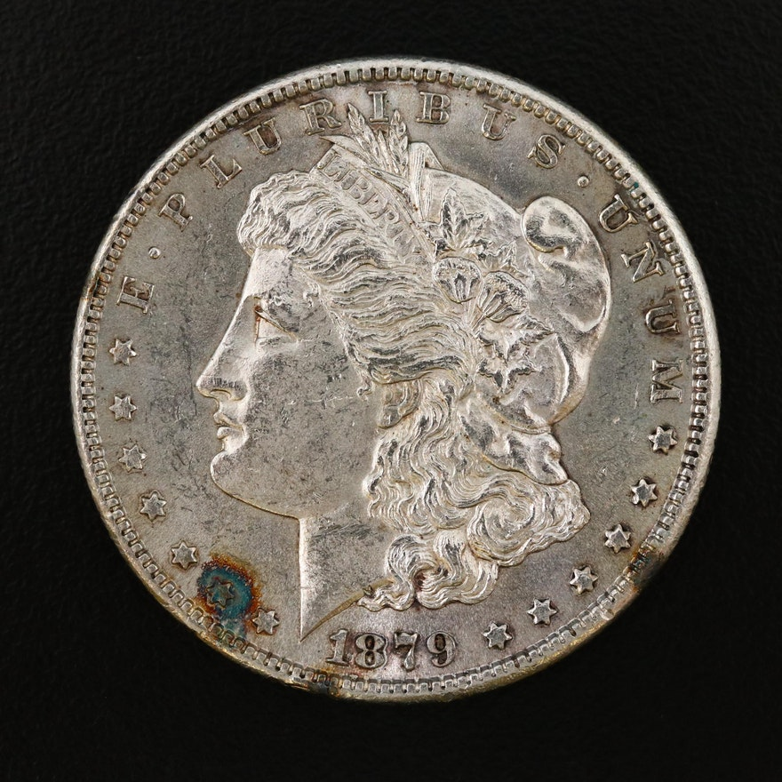 Better Date 2nd Reverse 1879-S Morgan Silver Dollar