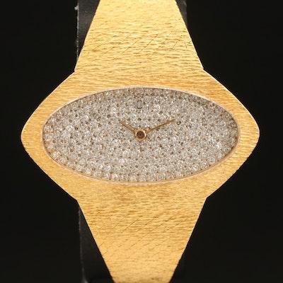 Concord 18K 1.00 CTW Diamond Wristwatch