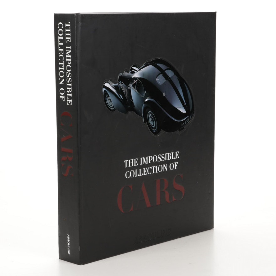 """Assouline Illustrated """"The Impossible Collection of Cars"""" by Dan Neil, 2011"""