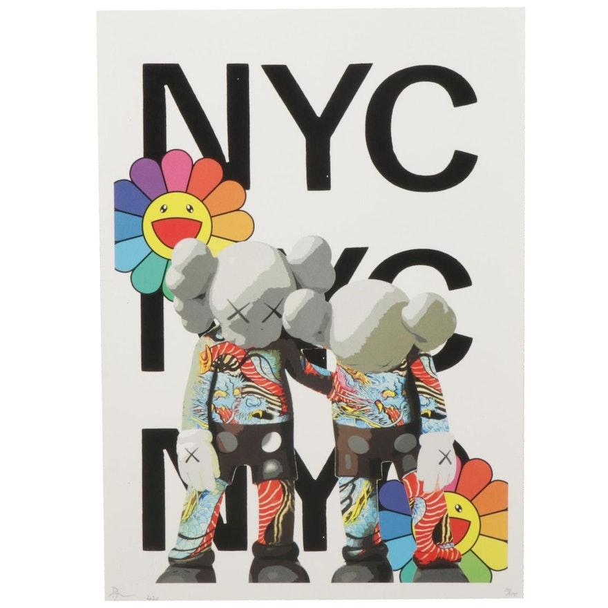 "Death NYC Pop Art Graphic Print ""DEATHG526,"" 2020"