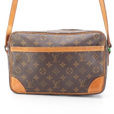 Louis Vuitton Trocadero Crossbody in Monogram Canvas and Vachetta Leather