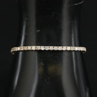 14K 5.01 CTW Diamond Tennis Bracelet