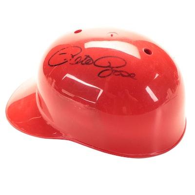 Pete Rose Signed Cincinnati Reds Batting Helmet