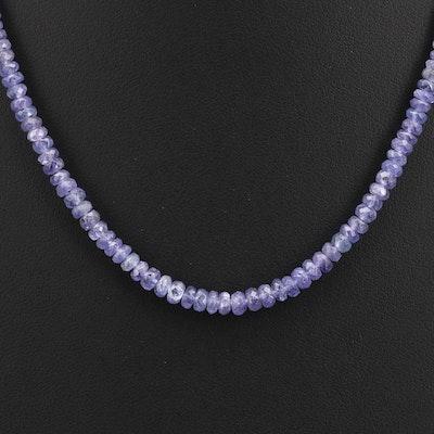 Graduated Tanzanite Necklace