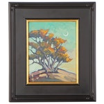 "William Hawkins Landscape Oil Painting ""Recall Lana,"" 2021"