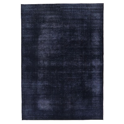8'9 x 12'6 Hand-Knotted Persian Overdyed Room Sized Rug