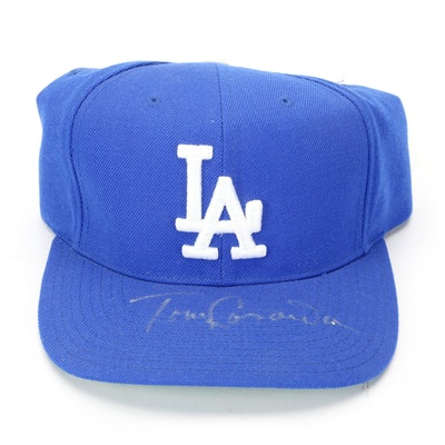 Tom Lasorda Signed Los Angeles Dodgers Baseball Hat, COA