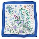 Gucci Silk Twill Scarf in Garden Botanical Floral Print
