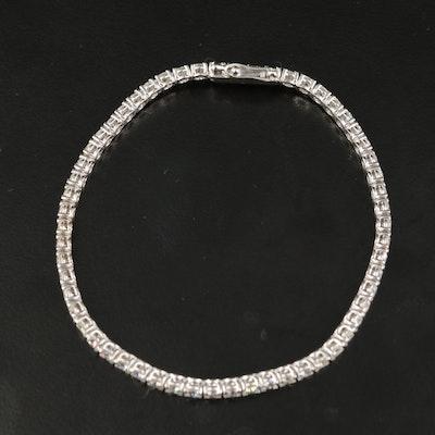 14K 4.18 CTW Diamond Tennis Bracelet