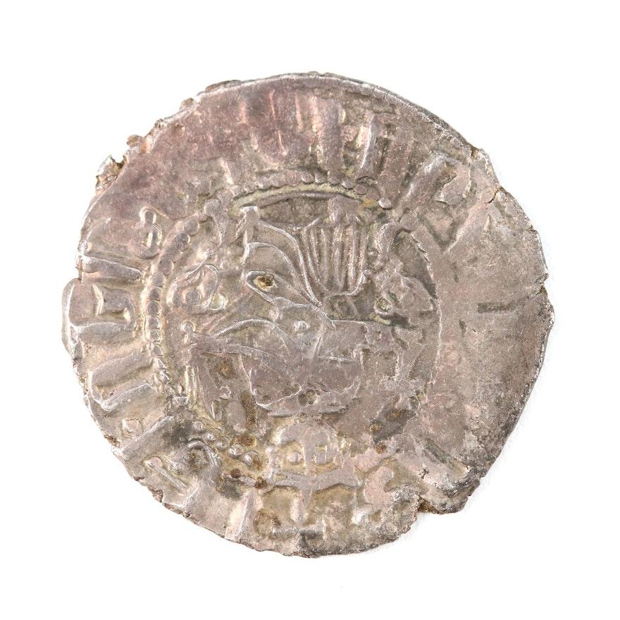 Armenia AR Tram Coin of Levon I, ca. 1200 A.D.
