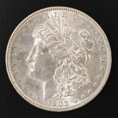 Better Date Lower Mintage 1903 Morgan Silver Dollar