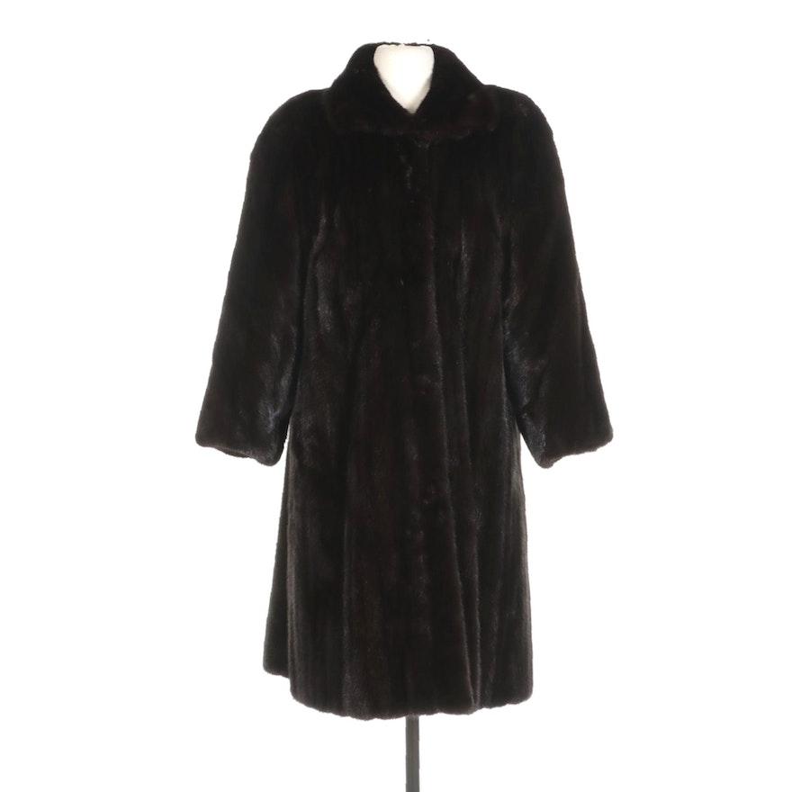 Canadian Mink Fur Coat