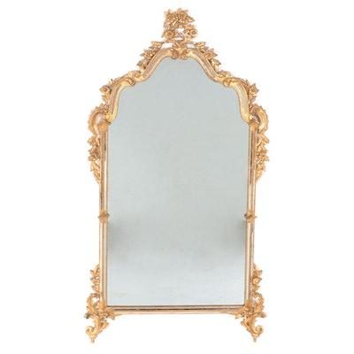 Kent Coffey Hollywood Regency Style Italian Giltwood Wall Mirror