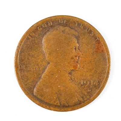 1914-D Lincoln Wheat Cent
